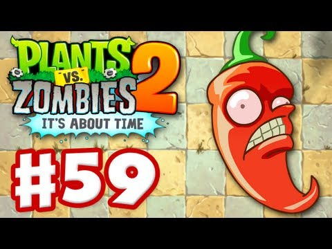Plants vs. Zombies 2: It's About Time - Gameplay Walkthrough Part 59 - Jalapeño (iOS)