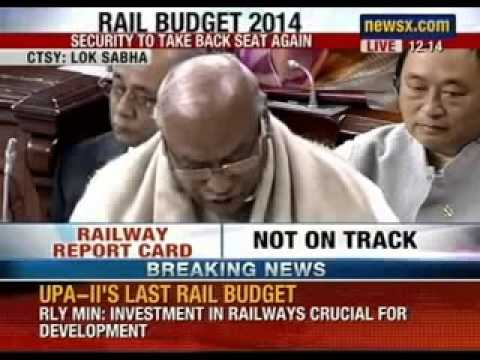 Rail Budget 2014: Uproar in Parliament ahead of tabling of rail budget