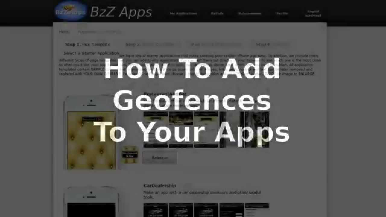 How to Setup A GeoFence