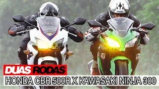 Duas Rodas Testando Limites: Honda CBR 500R X Kawasaki