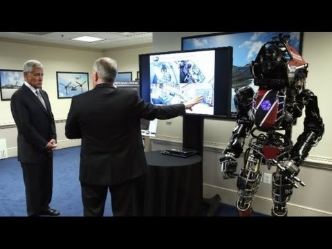 "Pentagon Using Man-Sized Robots For ""Humanitarian"" Work AND..."