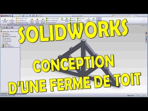 Didacticiel solidworks 2011 conception d 39 une ferme de - Hangar gratuit avec toiture photovoltaique ...