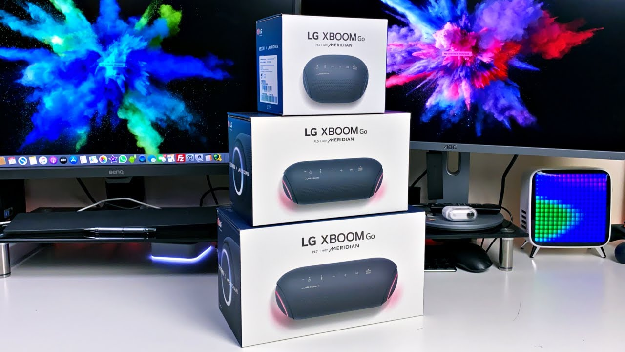 LG XBOOM Go PL2 / PL5 / PL7 - Music / Movie Sound Test   Best Portable Bluetooth Speakers