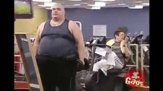 Un gordo va al gym