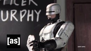 Robocop Teaches DARE