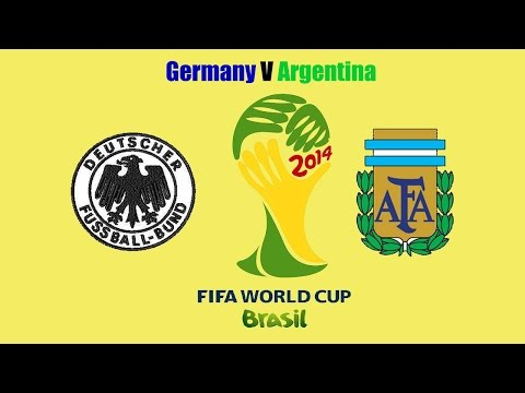 Brazil World Cup 2014-Germany V Argentina after game analysis