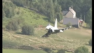 Low Level Flying In The Mountains Of Wales