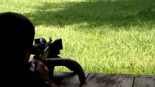 Tiro A 50 Metros Com Rifle .22 CBC 8022