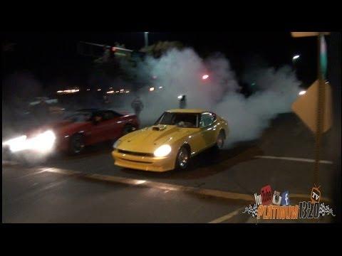 LSX NITROUS CAMARO vs SBC NITROUS 240Z DATSUN
