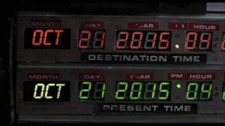 Back to the Future II: Actual Future Date, Proof
