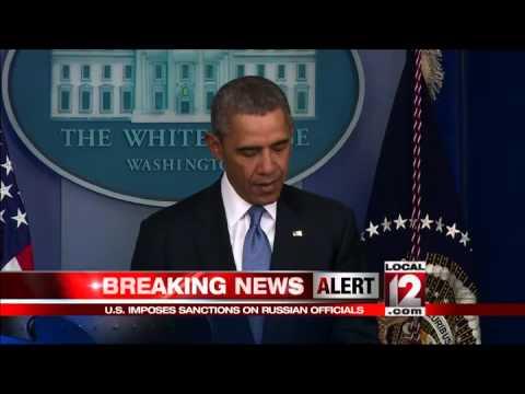 U.S. imposes sanctions against Russian officials