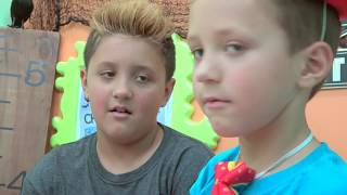 HALLOWEEN GUMMY vs. REAL FOOD + SMOOTHIE CHALLENGE Pt 2! Chase's Corner Scary Kids |#54 DOH MUCH FUN