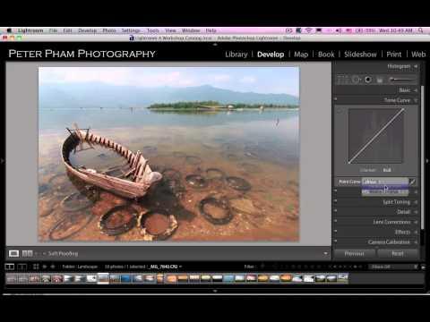 Học Lightroom 4 - 031 Cân chỉnh độ tương phản tấm hình