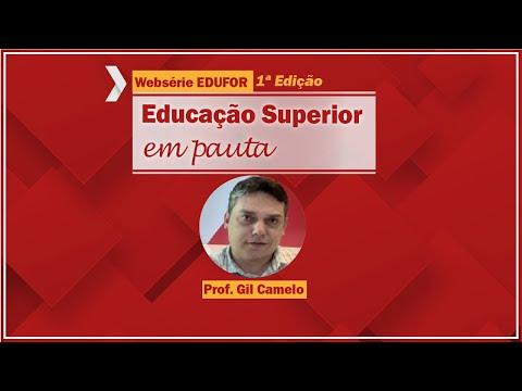 Lançamento Websérie EDUFOR Educação Superior em pauta