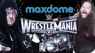 WWE WRESTLEMANIA 31 VERLOSUNG: Gewinne 1 von 3 Maxdome-Gutscheincodes + T-Shirts!