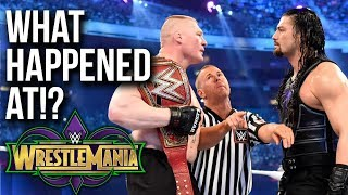 WHAT HAPPENED AT: WWE WrestleMania 34
