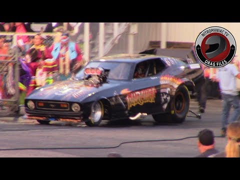 2019 Hot August Night Part 7 - Nostalgia Nitro Funny Car & Top Fuel Dragster Round 1 Exhibition
