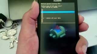 Hard Reset. Olvido Patron Huawei Y511 Y Otros