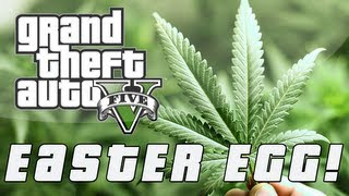 Grand Theft Auto 5 Secret Weed Farm Easter Egg (GTA V