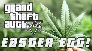 Grand Theft Auto 5 Secret Weed Farm Easter Egg (GTA V