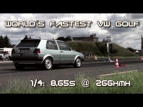 1,8 16 V Turbo, 900 PS, 266 Spitze. Dieser VW Golf 2 ist eine Bestie