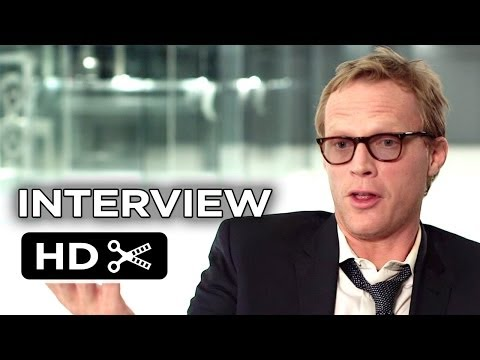 Transcendence Interview - Paul Bettany (2014) - Sci-Fi Mystery Movie HD