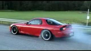 Mazda RX-7 Speedtest