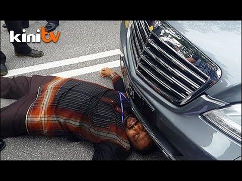 Calon Bebas 'rempuh' kereta Lim, dakwa dirinya dilanggar