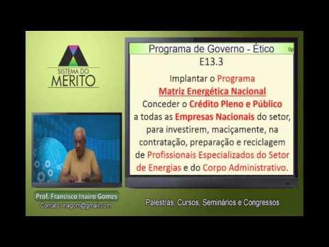 PRO.13 - Programa de Governo - ENERGIAS