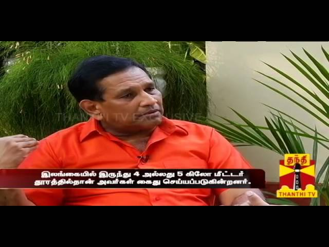 Exclusive Interview with Rajitha Senaratne(Fisheries Minister of Sri Lanka) Seg-02 Thanthi TV