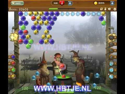Bubble Witch Saga level 58
