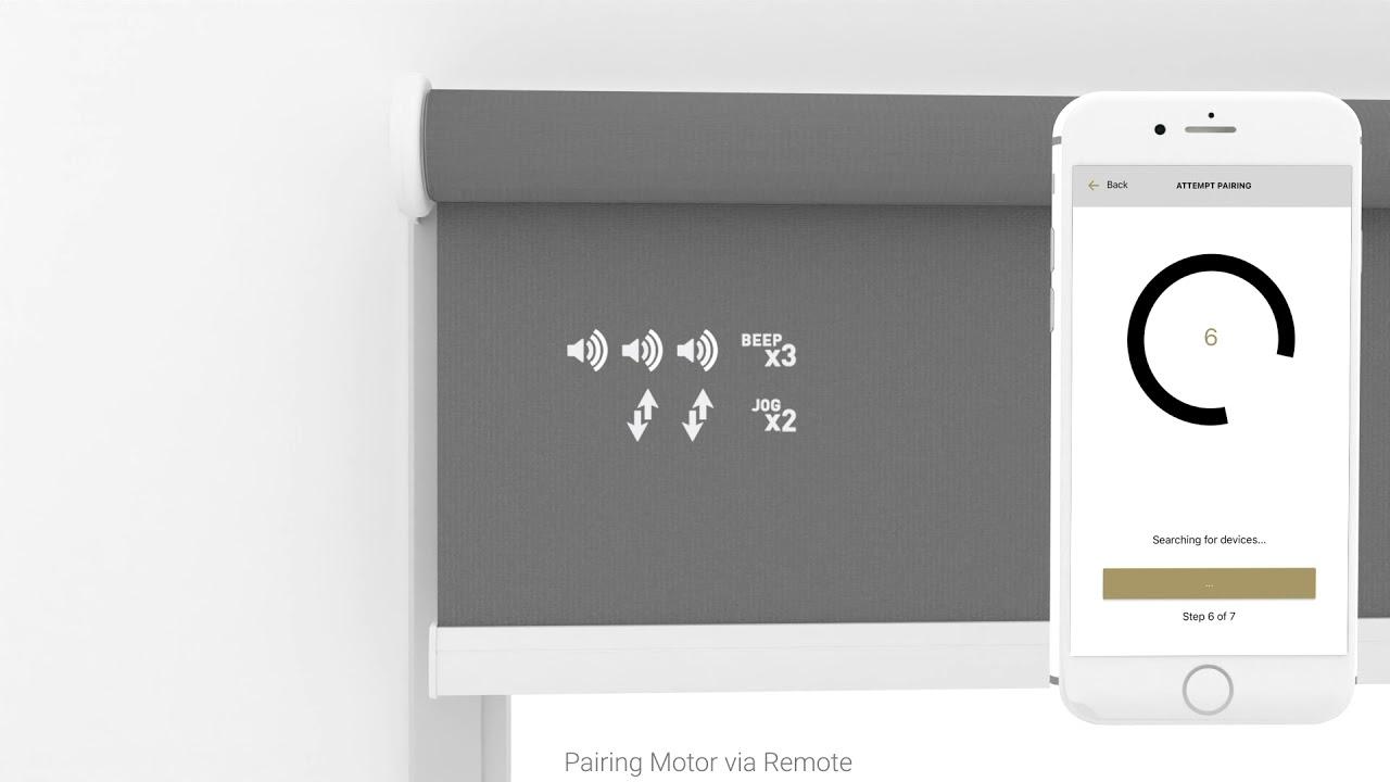 Pulse 2 Motor Pairing Via Remote