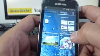 Como Eliminar Widgets De Samsung Galaxy Fame S6810