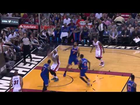 New York Knicks vs Miami Heat | April 6, 2014 | NBA 2013-14 Season