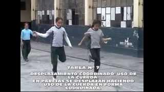 JUEGOS Y TAREAS MOTRICES: DESPLAZAMIENTOS _EDUCACIÓN