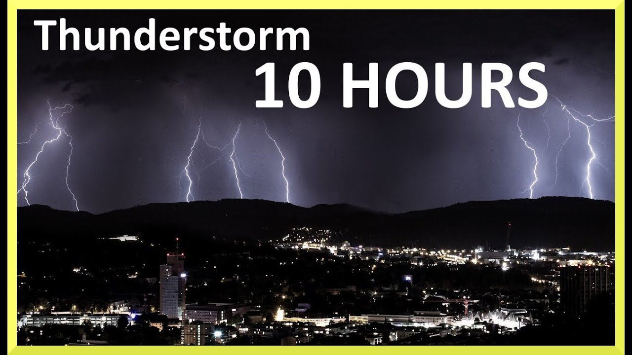 thunderstorm and rain sounds 10 hours sleep music youtube. Black Bedroom Furniture Sets. Home Design Ideas