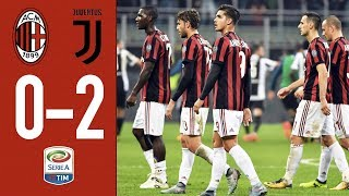 28/10/2017 - Campionato di Serie A - Milan-Juventus 0-2