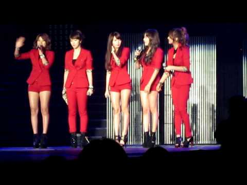 [FANCAM] 111125 4Minute Speaking English @ K-Pop Masters