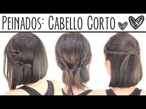 Peinados fáciles para cabello corto | Short hair hairstyles