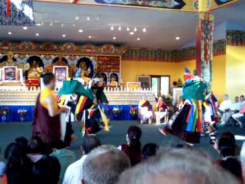 Tibetan Lama Dance, Palyul Buddhist Retreat Centre, McDonough, NY
