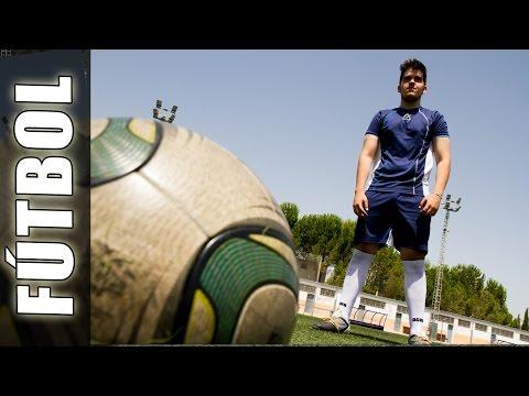 Tiros libres de fútbol - Free kicks con curva y efecto al balón o pelota