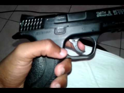 Review airsoft spring pistola m&p 40.