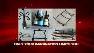 Ornate Wrought Iron Metal Bending Scroll Jigs