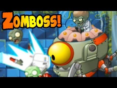 Plants vs. Zombies 2 - Far Future ZOMBOSS! (Level 25)
