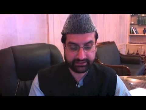 Mirwaiz Barred from Addressing media on Shopian Killings