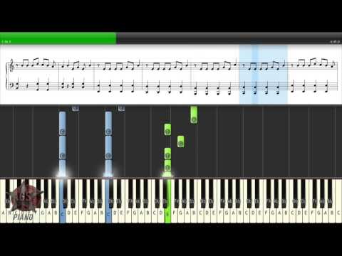 Macklemore -- Can't hold us  Piano Tutorial [40% speed] sheet (Synthesia)