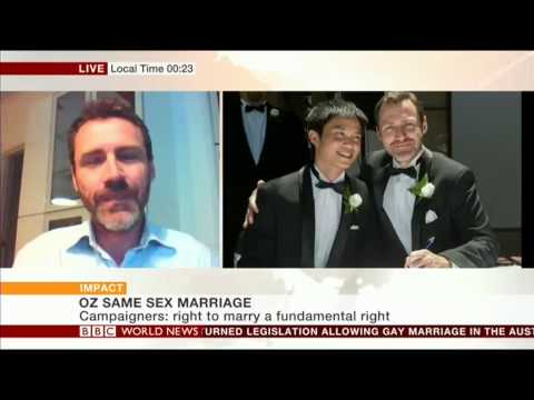 BBC World News: Reaction to Australian Hugh Court ruling on gay marriage