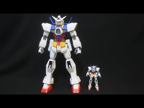 1/48 Gundam Age-1 Normal (Part 5: MS) Mega Size Model Age gunpla review