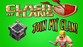 Clash Of Clans: Join My Clan!