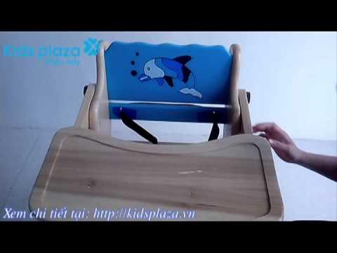 Ghế ăn bột xuất khẩu hình cá heo
